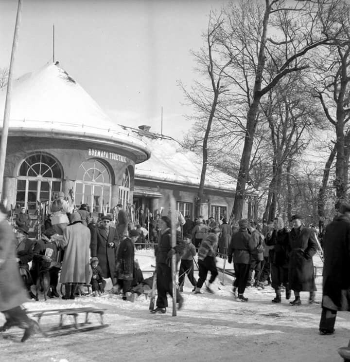 Normafa túristaház 1950