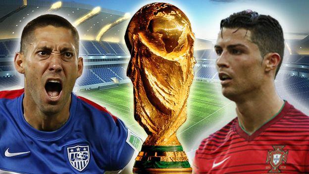 Portugal y Cristiano por su última chance. June 22, 2014.
