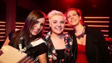 Die Band Elaiza, die Gewinner beim ESC Clubkonzert.