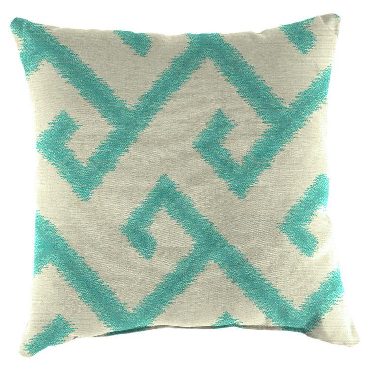Jordan Manufacturing Acrylic Fabric Patterned Toss Pillows - Set of 2 - 9952PK2-2154M