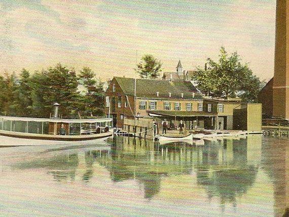 Gardner Massachusetts Vintage Postcard   Old by TheOldBarnDoor