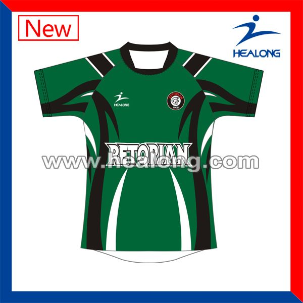 2014 hot sublimation latest rugby American football cool jersey design custom cheap China factory club soccer jerseys sorority