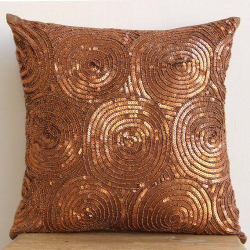 "Designer Copper Euro Shams, 26""x26"" Euro Pillow, Spiral S... https://www.amazon.com/dp/B00D197NES/ref=cm_sw_r_pi_dp_x_JWylybD98TH25"