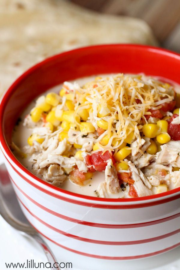 A favorite soup of ours - Mexican Chicken and Corn Soup