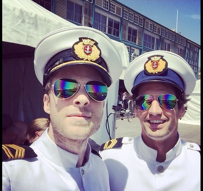 H & A in the navy?!