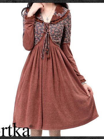 Fall-in-love with autumn dress
