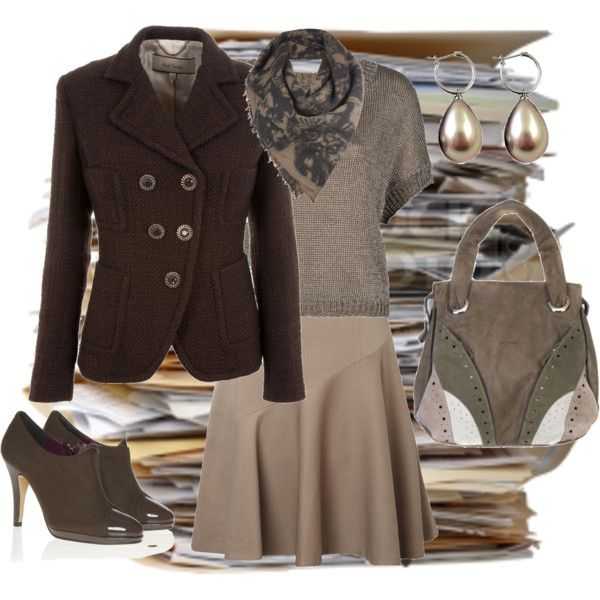 Work Outfit, created by agakp0 on Polyvore