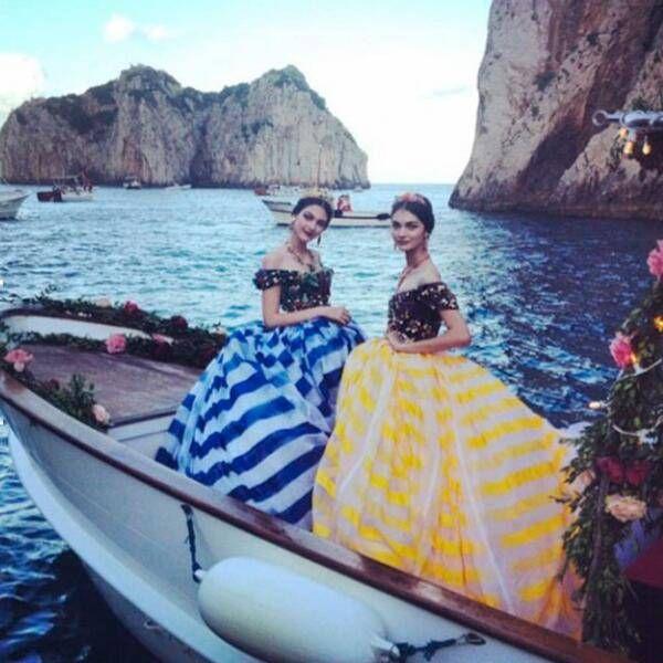 Dolce&Gabbana - Haute Couture a Capri