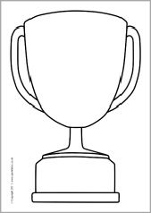 Editable trophy templates (SB5420) - SparkleBox