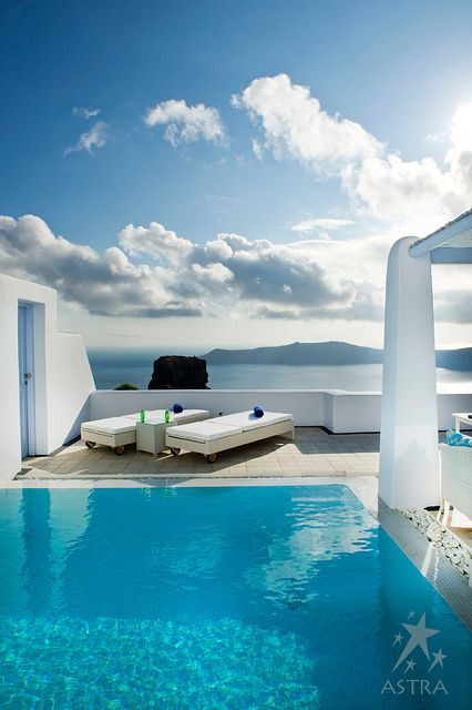 Pool Suite-Astra Suites, Imerovigli, Santorini, Greece by Astra Suites - Santorini, via Flickr