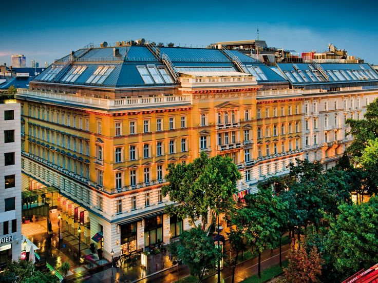 Grand Hotel Wien, Vienna~ where we are staying for a romantic Valentines day. 2014 DONE