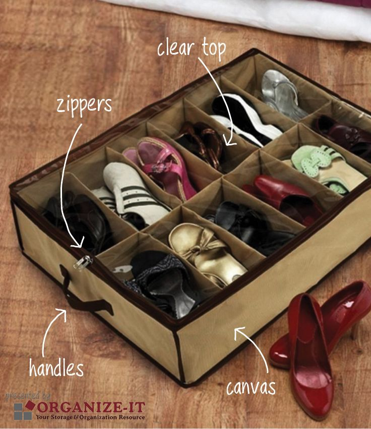 There are hundreds of under the bed shoe storage pieces to choose from out there on the world wide web and no two are created the same. We've tested many of them and figured out the musts any good under bed shoe organizer needs. Here they are:
