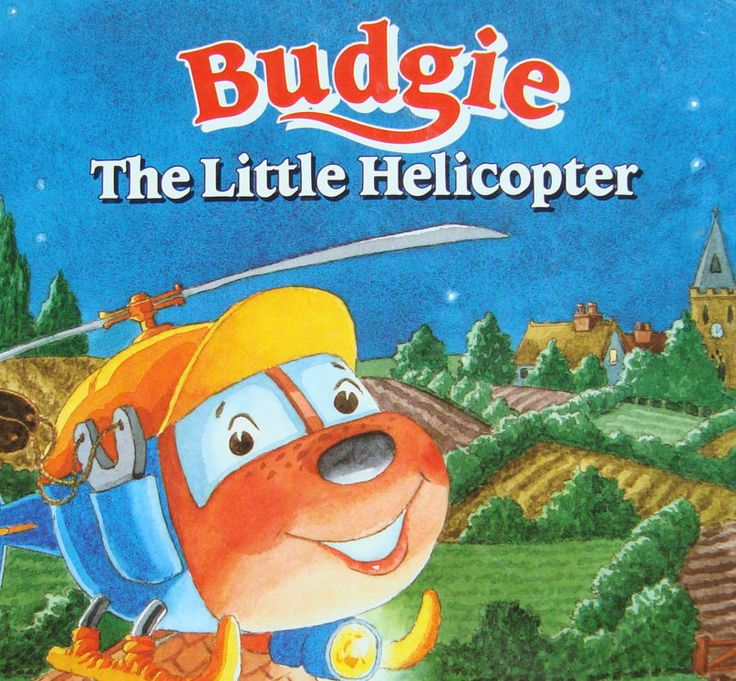 Budgie the Little Helicopter by H.R.H. The Duchess of York - Sarah Ferguson - Children's Illustrated Story Book by OfftheShelf2015 on Etsy