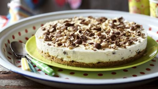 BBC Food - Recipes - Easy no-cook cheesecake