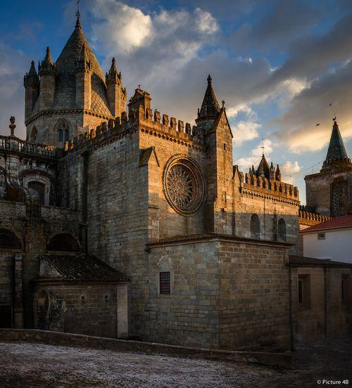 Evora, Portugal My dog, Bernie, was born in Evora. It's such a beautiful place!