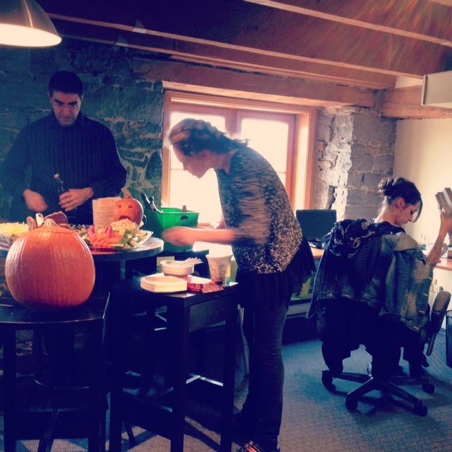 Celebrating #halloween at the office!