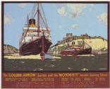 Southern Railway Dover Calais Ferry A3 Poster Reprint AUG16