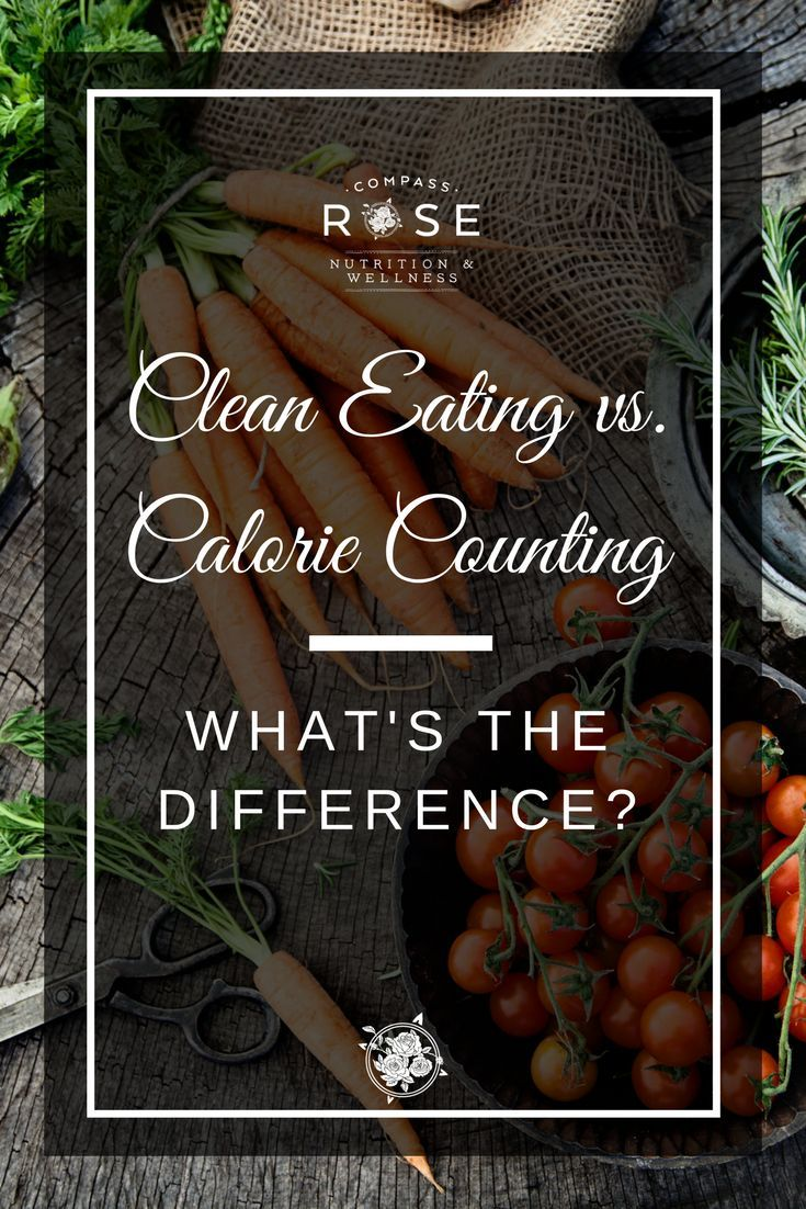 Clean Eating vs Calorie Counting. What is the difference? | Calories | Clean Eating | Learn why all calories are not the same | Empty calories | Click to read full blog post