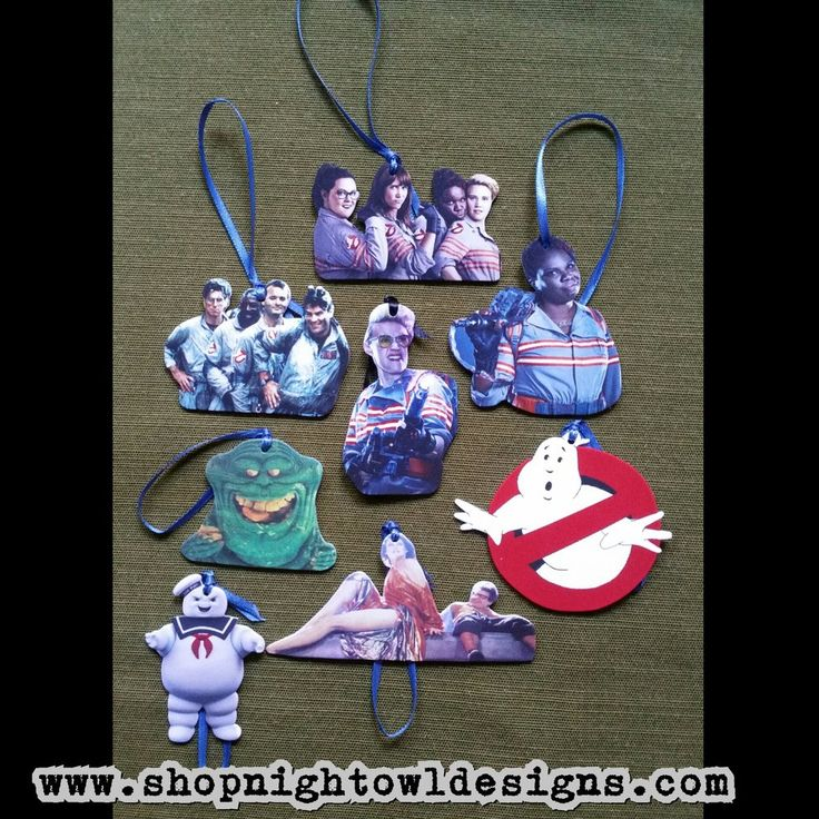 Choose your own Ghostbusters ornaments $4 each by Night ...