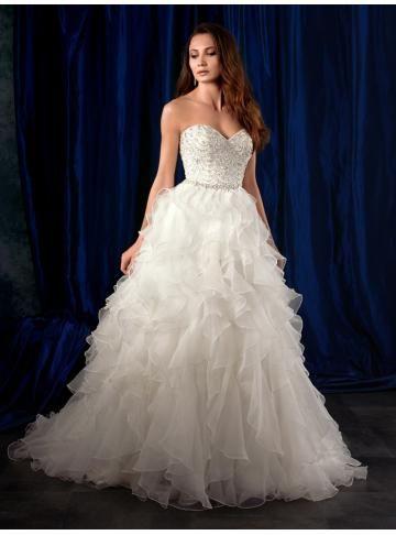 organza balklänning bröllopsklänningar