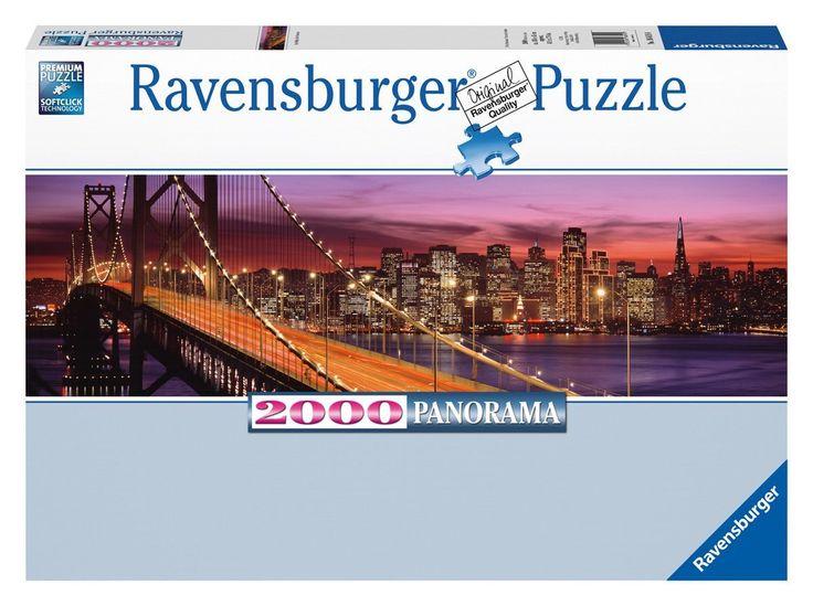 Ravensburger - 16619 0 - Skyline Di San Francisco - Panorama. Puzzle 2000 Pezzi: Amazon.it: Giochi e giocattoli