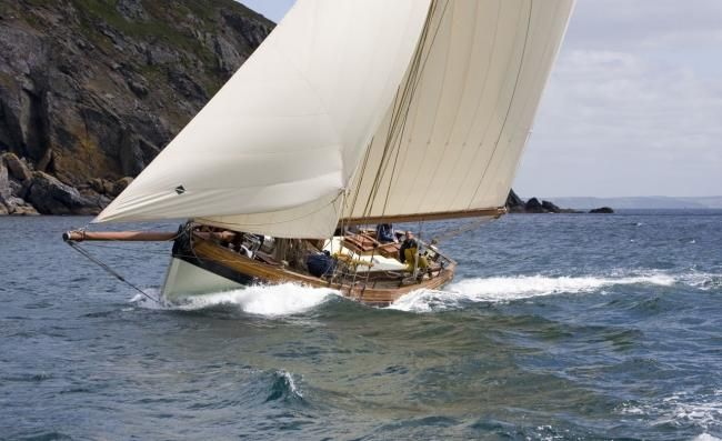 Fast Sailing to Windward, Pilot Cutter, Edith Gray Dimensions LOA: 38ft 6 inches Bea… | BOAT ...