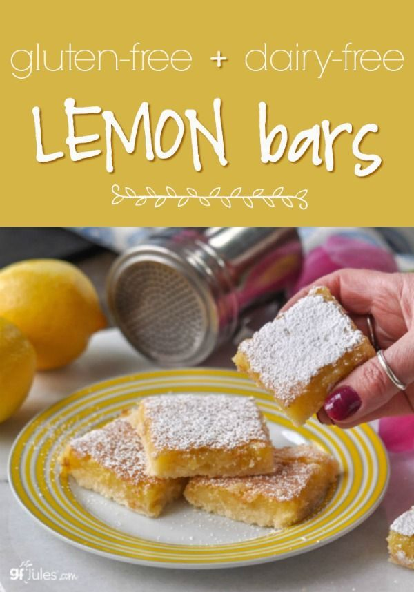 Gluten Free Lemon Bars Recipe With Images Gluten Free Lemon