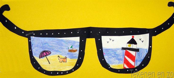 Tekenen en zo: Door een zomerse bril