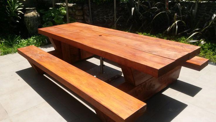 Macrocarpa Outdoor Tables
