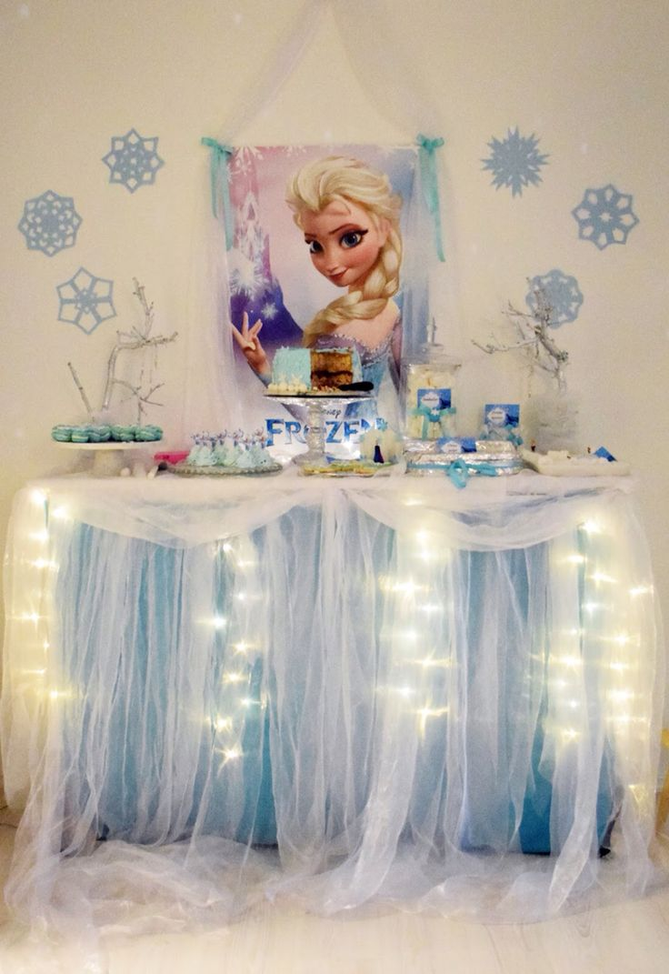 Caketable frozen party birthday