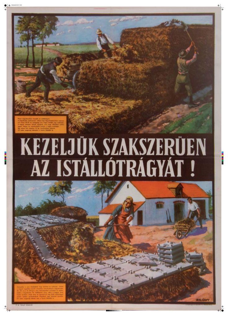Balázsfy Rezső - Kezeljük szakszerűen az istállótrágyát! 1954