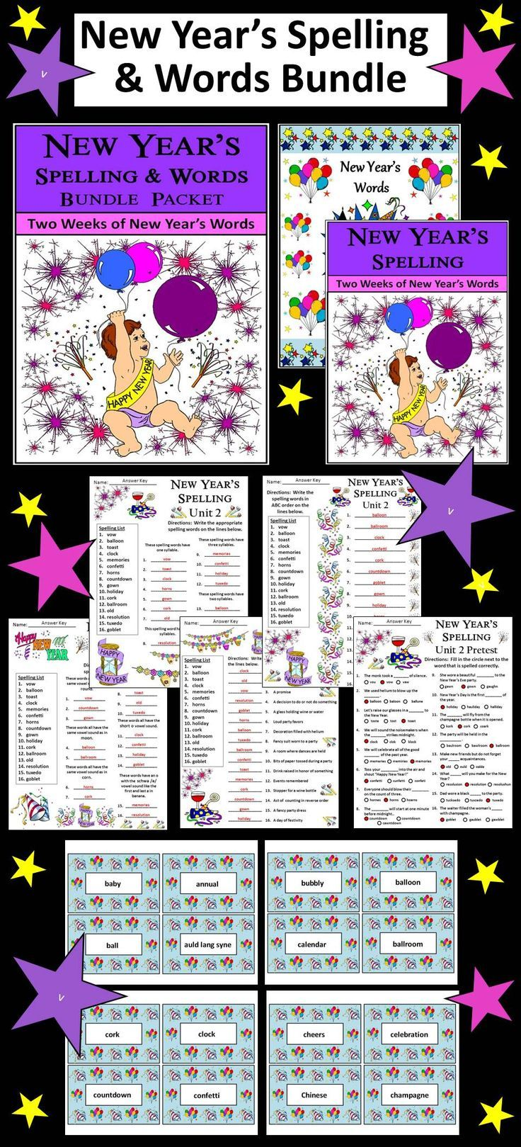 Short writing activities for year 6 spelling