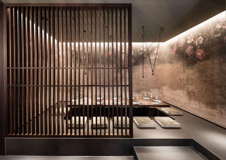 interior design, asia, restaurant  Enso Sushi & Grill by DIA – Dittel Architekten
