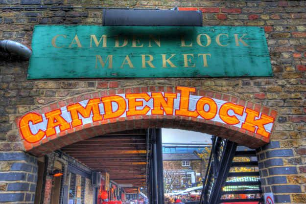 Stroll around Camden Market
