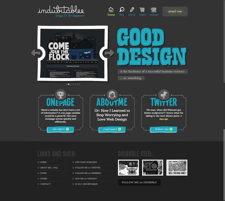 Web Design Portfolio Examples: 1000+ Images About Graphic Designer Portfolios On