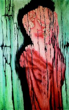 Toyen (Marie Čermínová) - Pink Spectre. #painting #art #Czechia #CzechArt