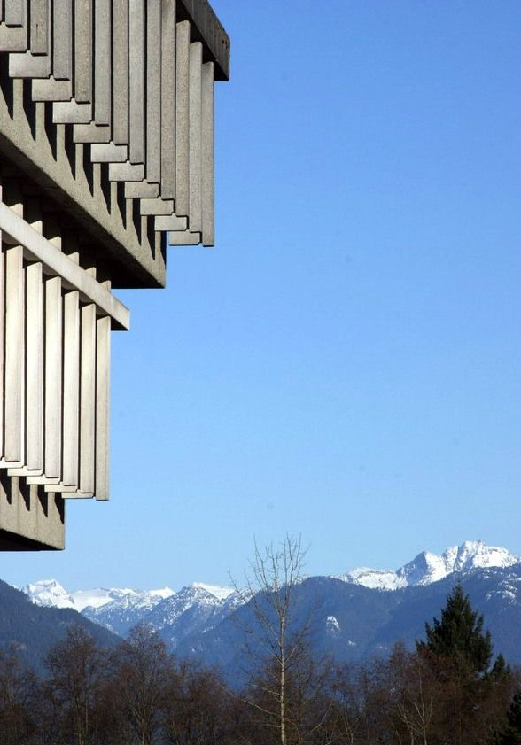 View of Mountains from SFU