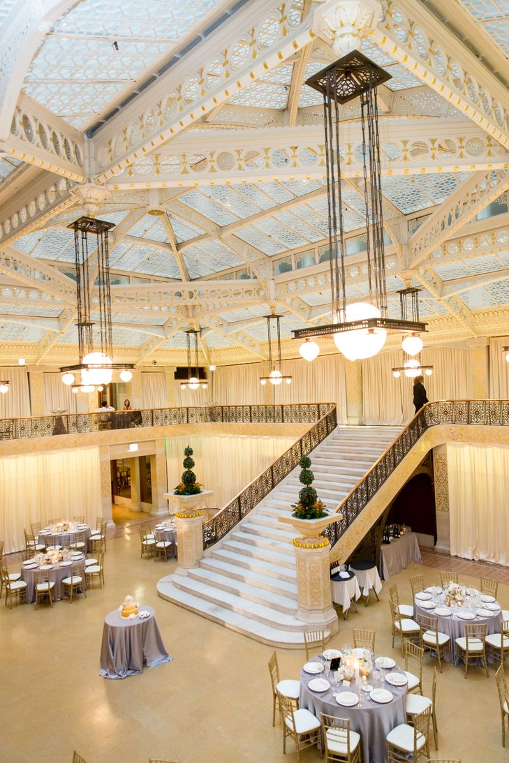 The Rookery Old Chicago Glam-Themed Wedding Reception | Lighting – Art of Imagination https://www.theknot.com/marketplace/art-of-imagination-chicago-il-390497 | Ann & Kam Photography & Cinema https://www.theknot.com/marketplace/ann-and-kam-photography-and-cinema-chicago-il-443077 | Bliss Weddings & Events https://www.theknot.com/marketplace/bliss-weddings-and-events-chicago-il-452196 |