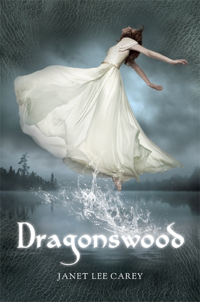 DRAGONSWOOD by Janet Lee Carey. I know you're not supposed to judge a book by its cover (I know that saying isn't literally for books) but I chose this one solely on the cover (as you can see why, its gorgeous!) and loved it!