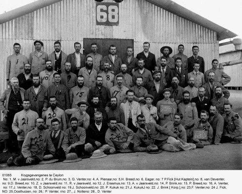 Net 'n kort foto toer van 'n Boer wat krygsgevange geneem is in die Anglo-Boere Oorlog.... Gevang, gehok, ge-trein, geskip, gehok, ge-los, gekry en getreur. The Anglo Boer War through the eyes of a Boer POW ( Prisoner of War )