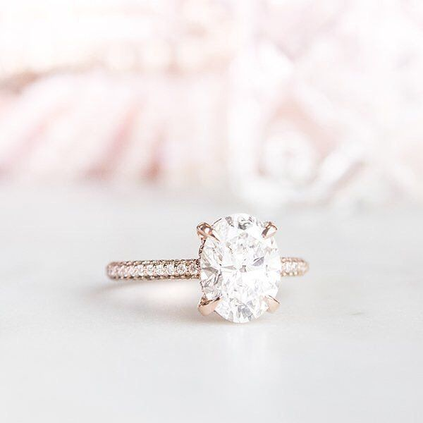 14k Rose Gold Valencia Diamond Ring 1 3 Ct Tw Expensive Wedding Rings Classic Diamond Engagement Ring Unique Engagement Rings