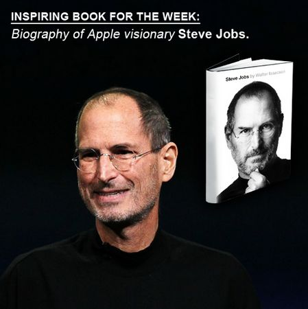 Have you had your dose of inspiration today? If no, then you may want to read the ubiquitous biography of Apple visionary Steve Jobs. His monomaniacal obsession for quality and his commitment to it proved to be a game changing and path breaking journey for the Apple phone straight into millions of hearts.   Tell us which book left you inspired and asking for more.