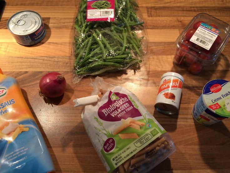 Tonijn - pasta salade