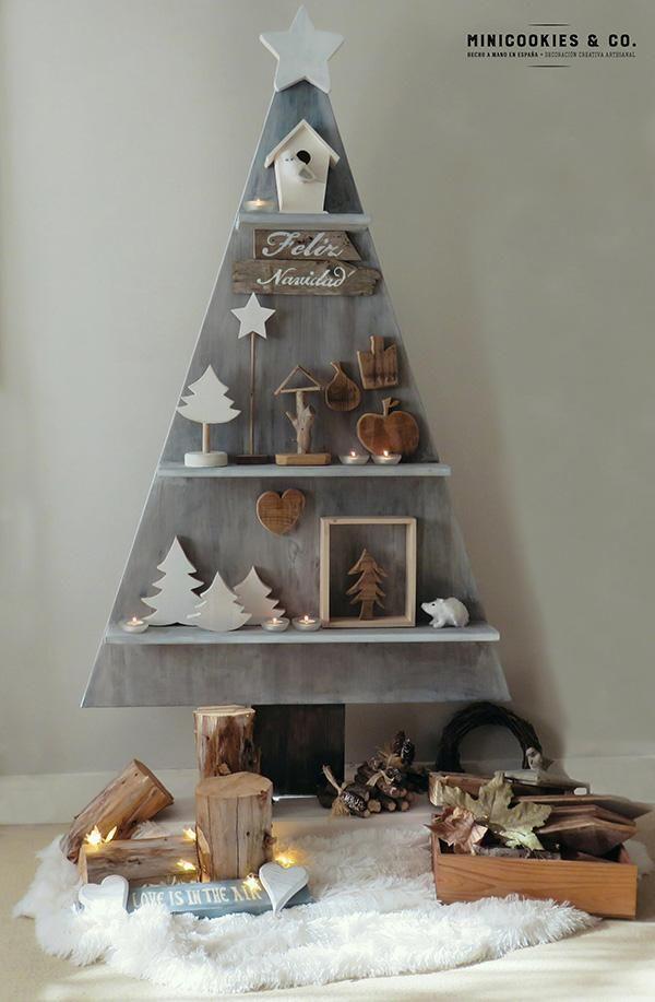 Arbol Navidad de madera