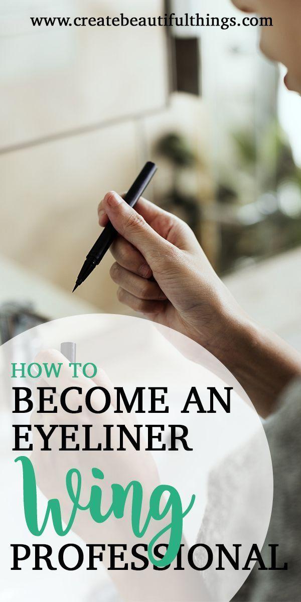 14-tägige Wings-Herausforderung zur Verbesserung Ihrer Eyeliner-Fähigkeiten! Sei ein Teil dav…