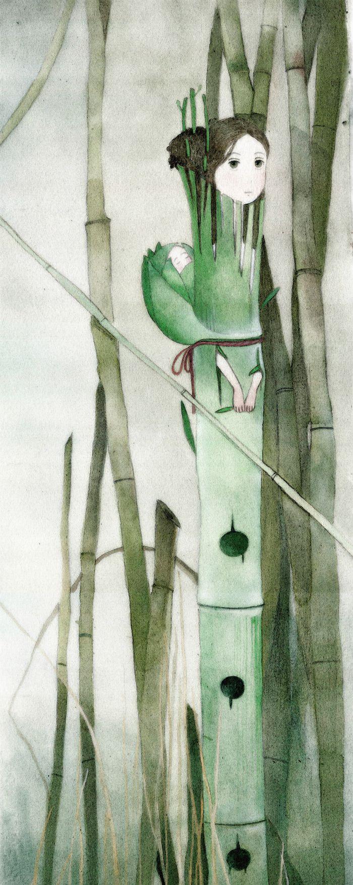 """Посмотреть иллюстрацию Татьяна Булгакова - """"Тростниковая флейта в два голоса""""."""