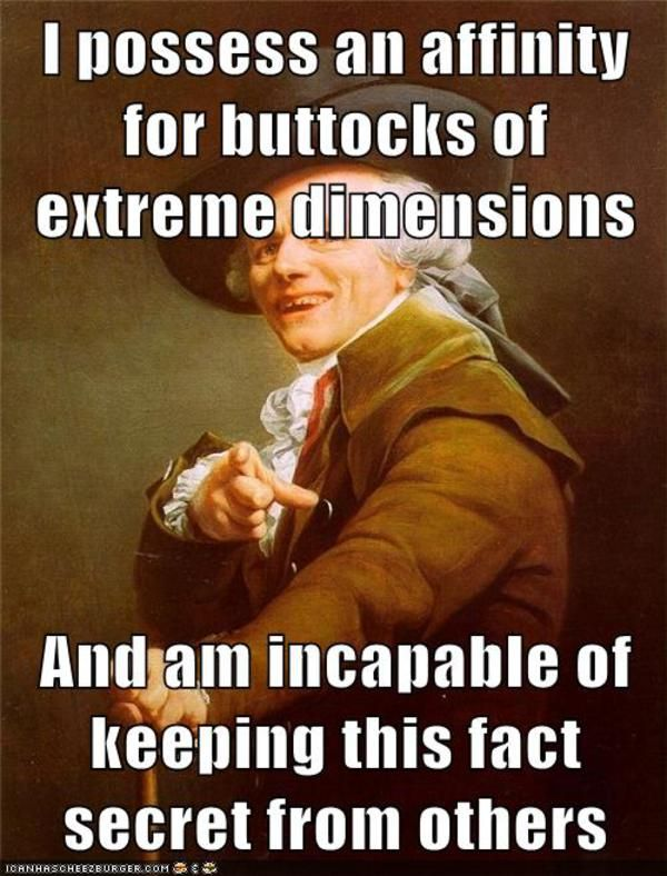 See more 'Joseph Ducreux / Archaic Rap' images on Know Your Meme!