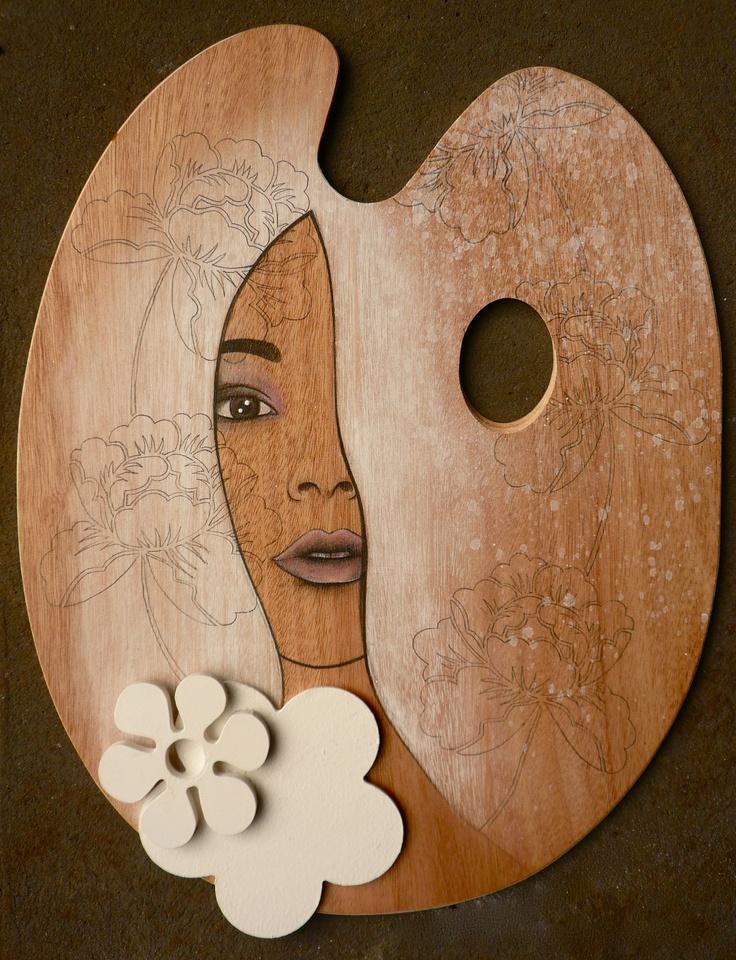 palette portrait. Artwork by Simone Maynard. ------- http://simonemaynard.com