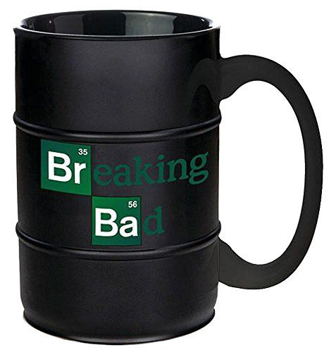 AMC Breaking Bad Barrel Molded Coffee Mug @ niftywarehouse.com #NiftyWarehouse #BreakingBad #AMC #Show #TV #Shows #Gifts #Merchandise #WalterWhite