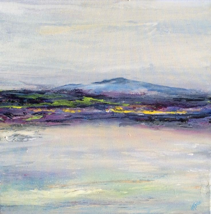 Irish or Canadian?  Abstract landscape.
